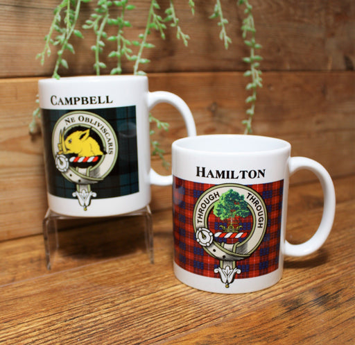 Scottish Clan Coffee Mugs