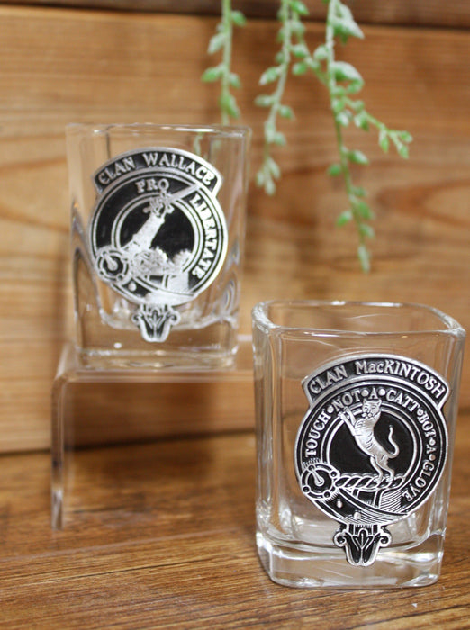 Scottish Clan Crested Shot Glasses