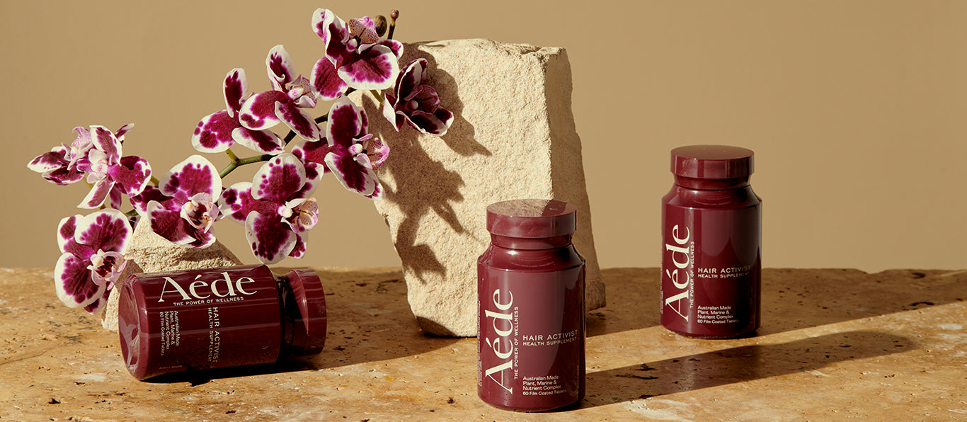 AEDE Hair Activist | The Daily Dose | Hair Growth Supplement | Australia