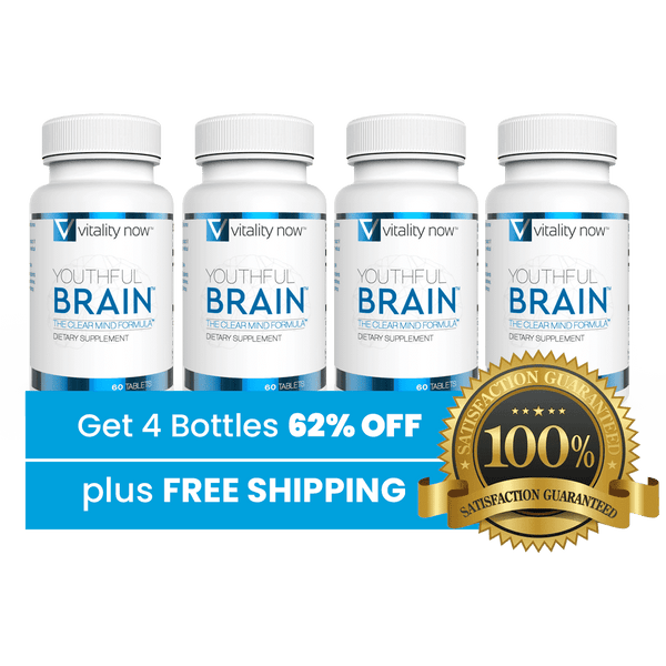 4 Bottles of Youthful Brain