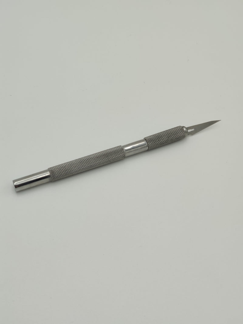 KB010 Stainless Steel Handle Nail Art Knife