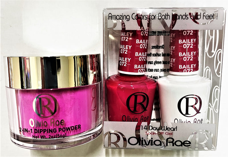 Olivia Rae 3-IN-1 Color Powder