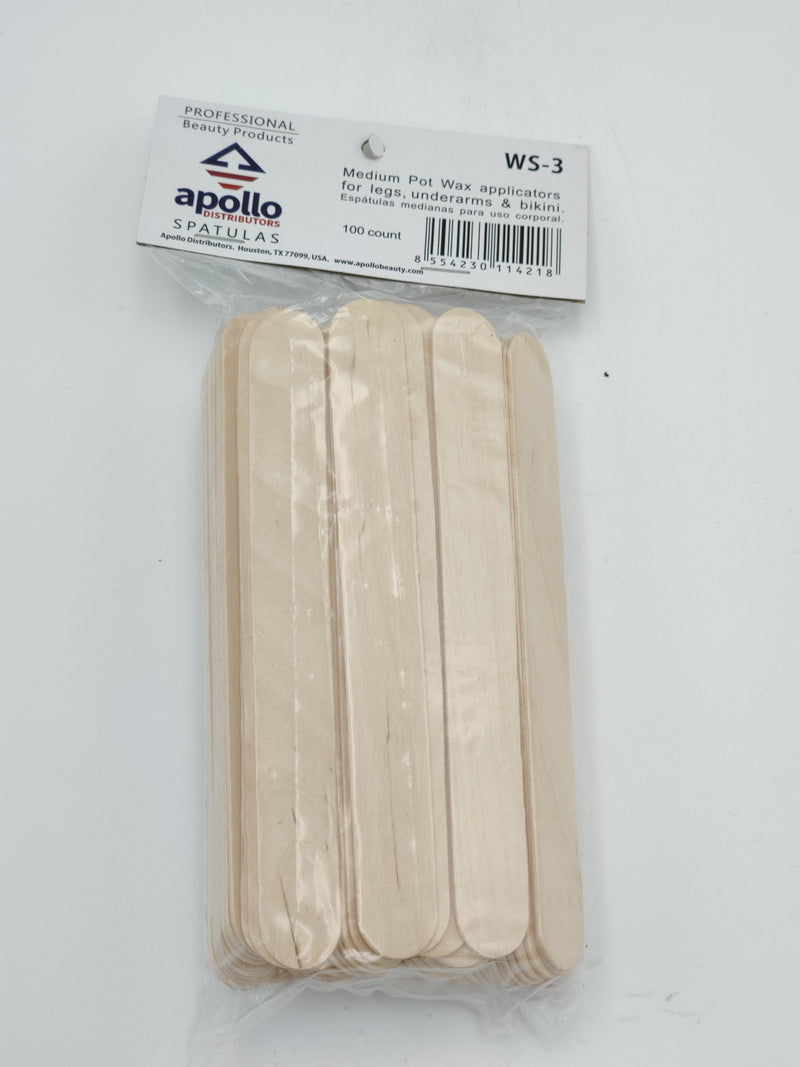 Apollo Medium Pot Wax Applicators