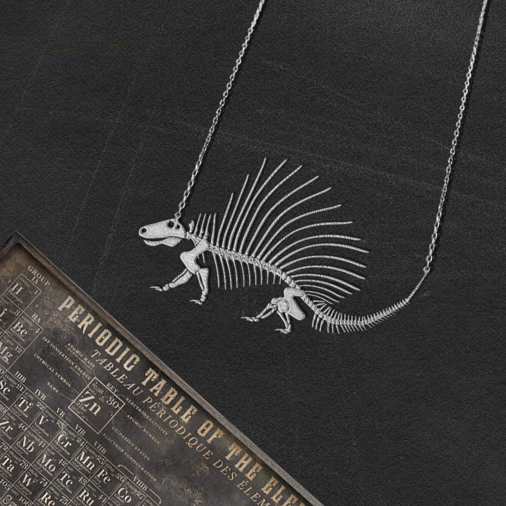 Dimetrodon Skeleton Necklace