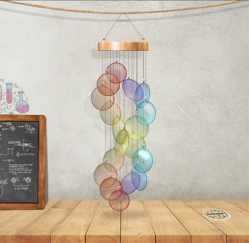 DNA Wind Chime