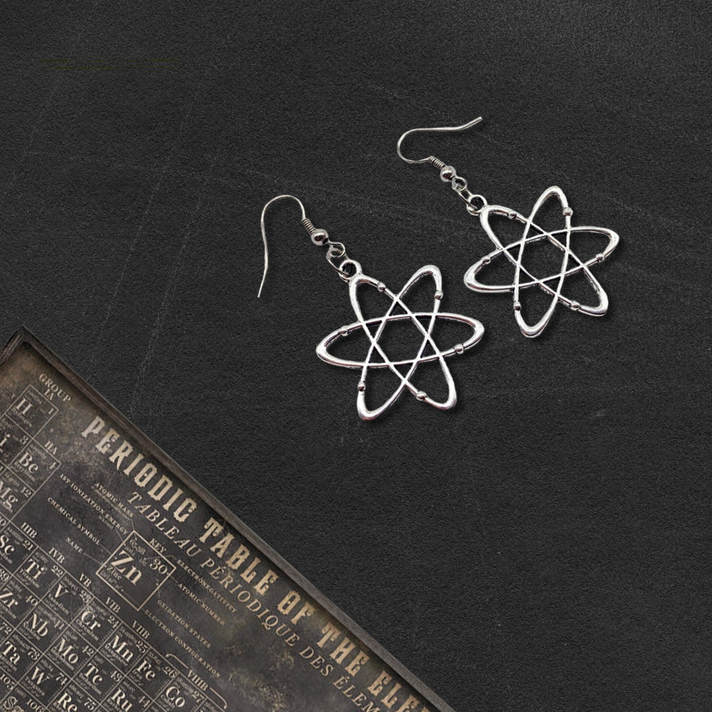 Atom Earrings