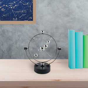 Kinetic Orbital Solar System Desk Gadget | Celestial Bodies