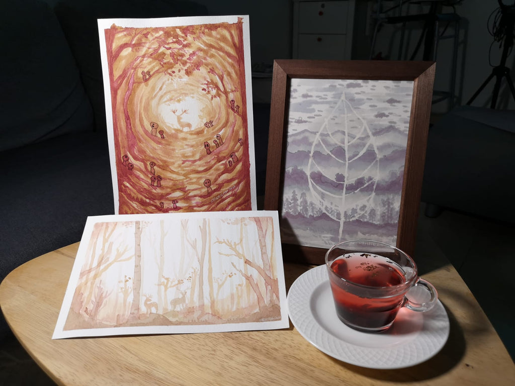 Tea Color Painting : Interview with Ottilie Ng