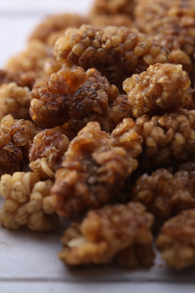 Organic Sun-Dried White Mulberries