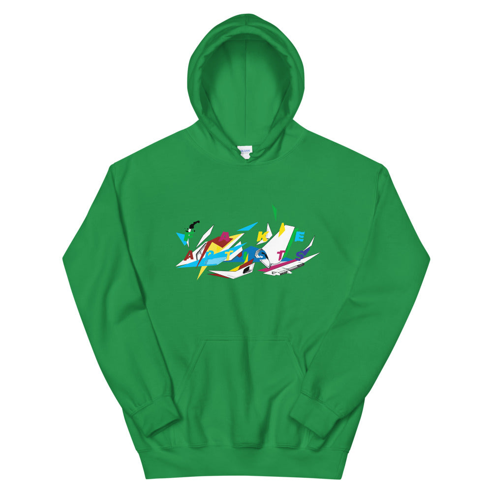 Abstract Fly Hoodie - Fake Artists