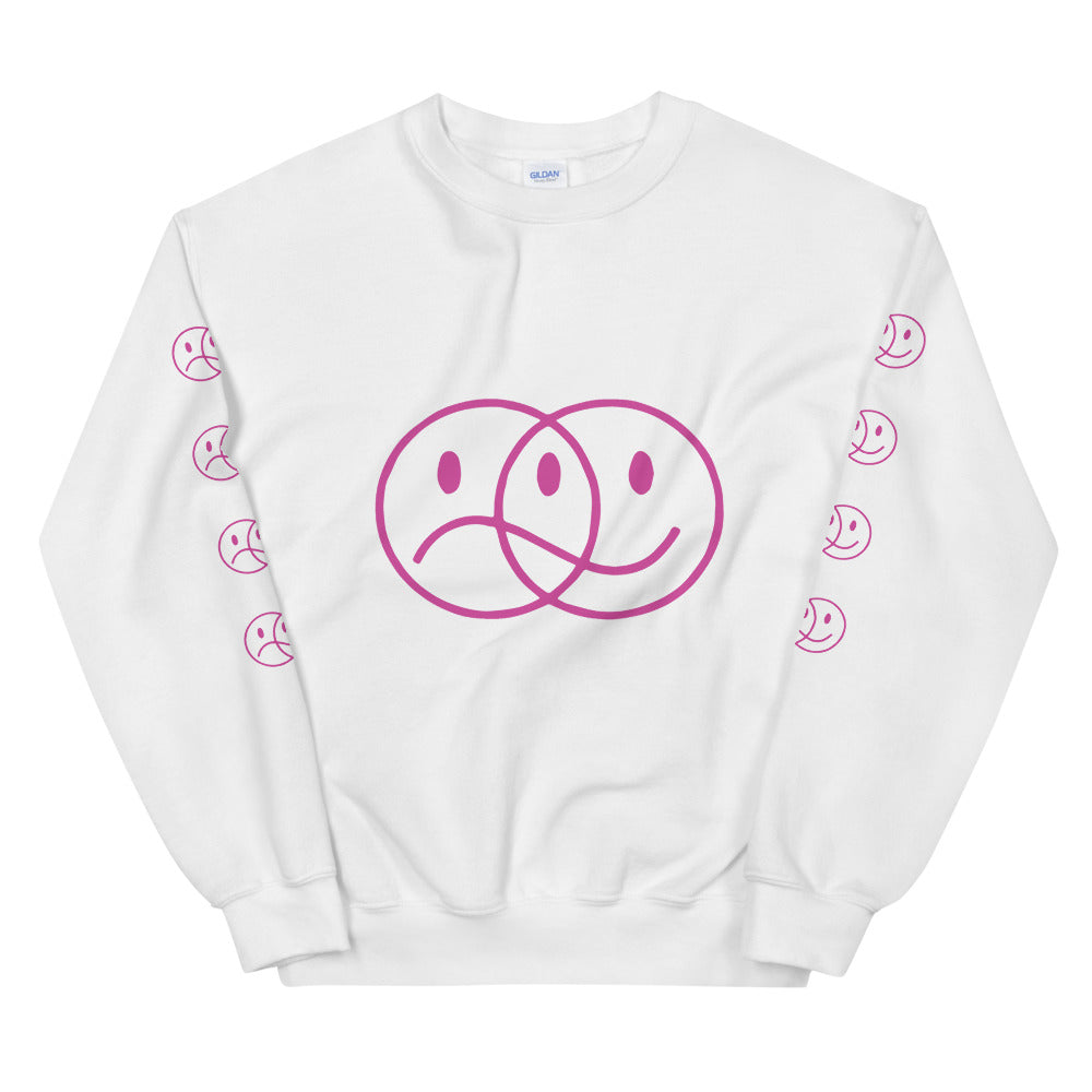 Fake Smiley Sweatshirt - Fake Artists