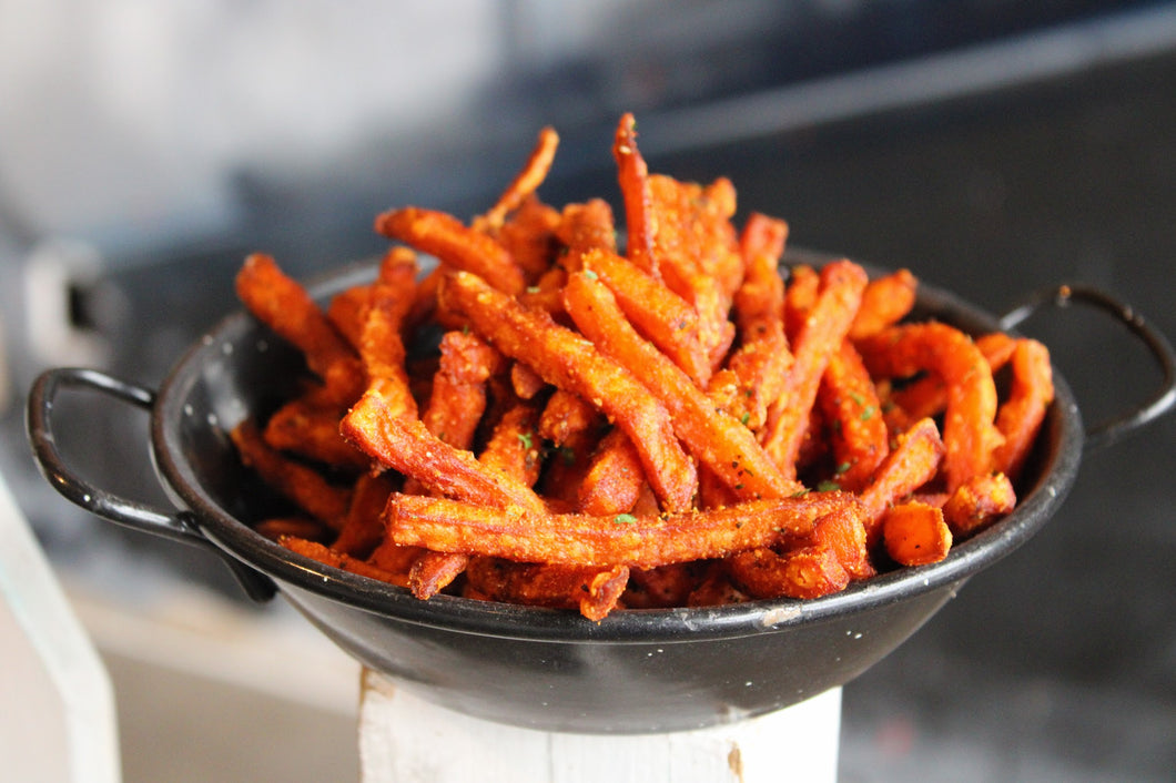Sweet Potato Fries with side chipotle mayo