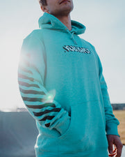 STARS IN STRIPES - Hoodie Mint