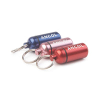 Ancol Light waterproof Aluminium Dog ID Tube Collar Tag paper insert for details