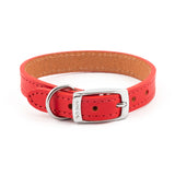 Ancol UK Made Heritage 100% Genuine Leather Dog Collar 7 sizes 3 colours