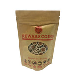 Papaya Sweet Potato Vegan Dog Treat Reward Coins Meat, Sugar and Gluten Free