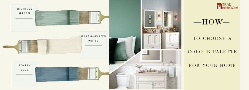 HOW TO CHOOSE A COLOUR PALETTE FOR YOUR HOME