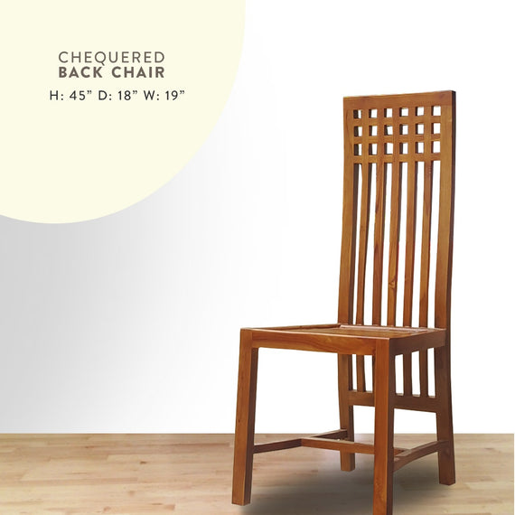 Chequered Dining chair