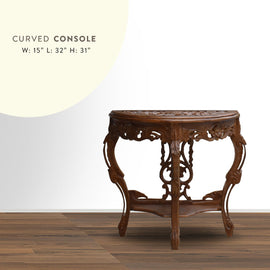 Carved Console