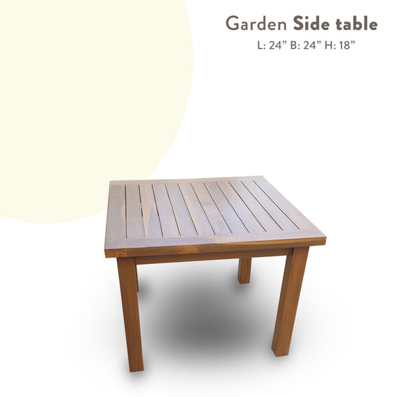 Outdoor table 2'x2'