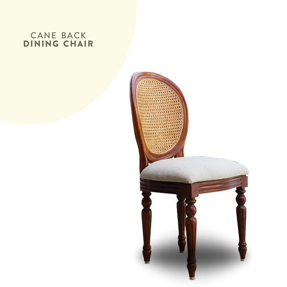 Dining Chair with Cane