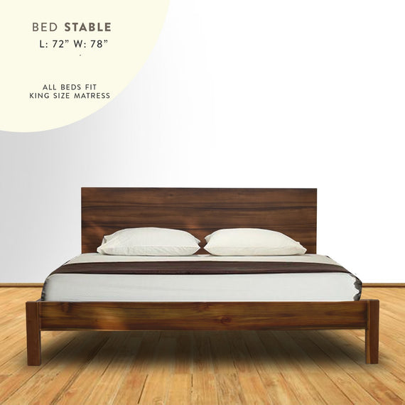 Bed stable