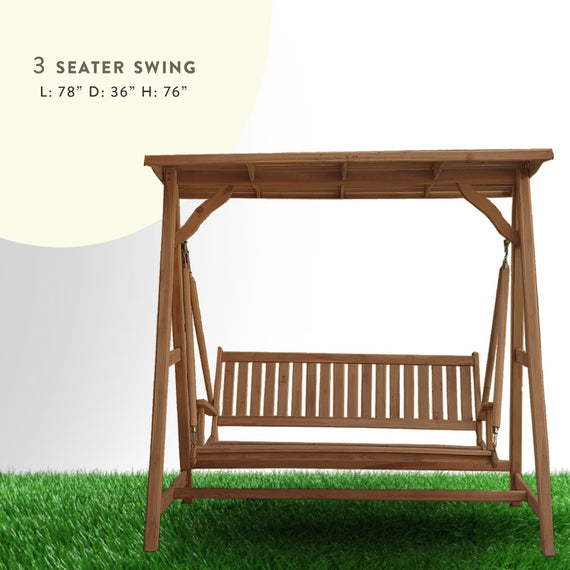 Swing 3 seater