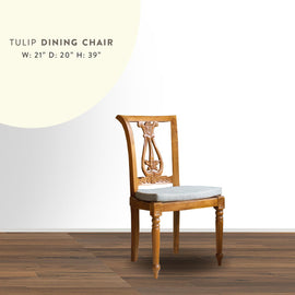 Dining Chair Tulips