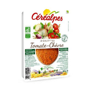 Galettes Tomat/Chevre 2x90g Cerealpes