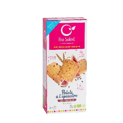 Palets Figue Lin 165G Alpes Biscuits