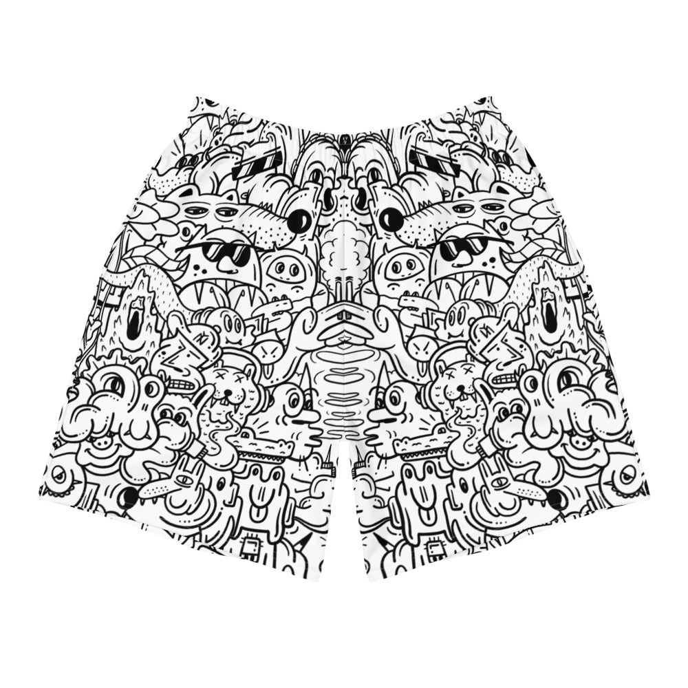 Monsters Long Shorts