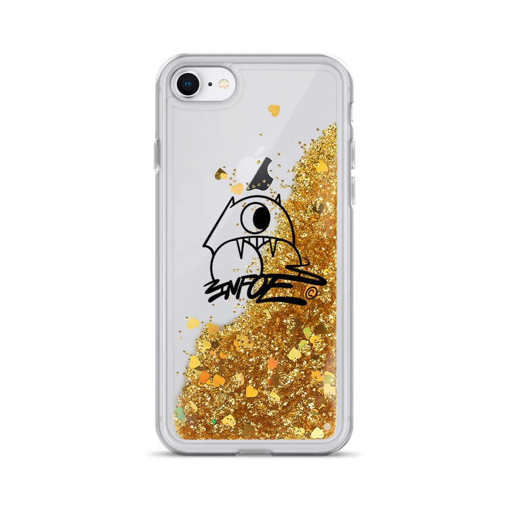 Infoe Logo Liquid Glitter Phone Case