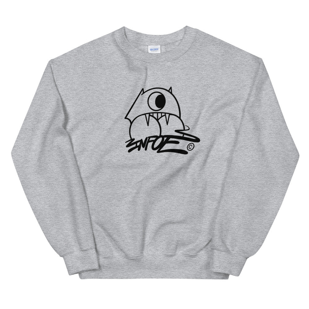 Throwie Monster Logo Infoe Sweat-shirt