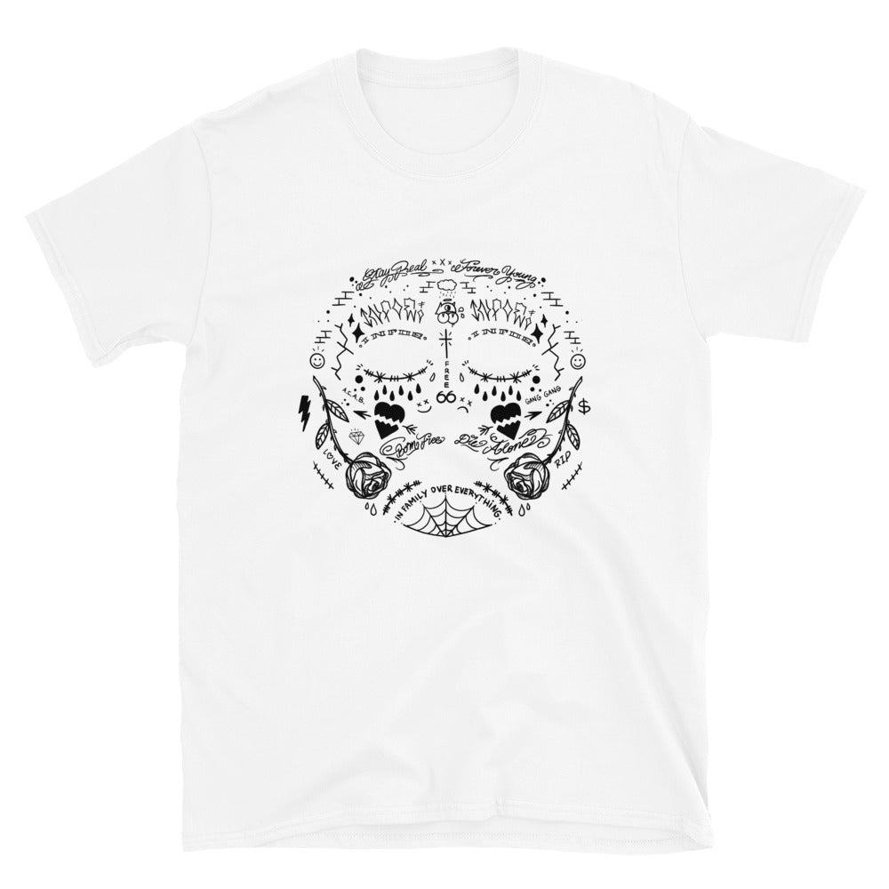 Face Tattoo T-Shirt