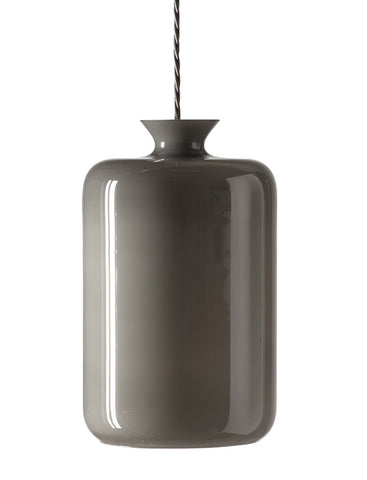 LAMPE-PILLAR Mother of pearl GREY
