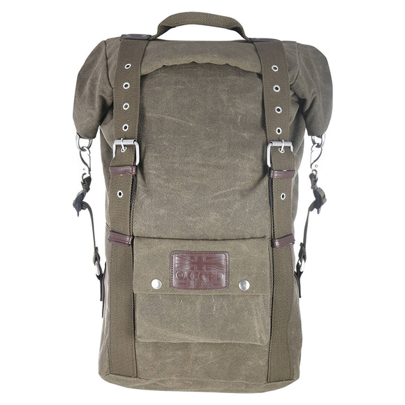 OXFORD HERITAGE 30L BACKPACK MILITARY / KHAKI