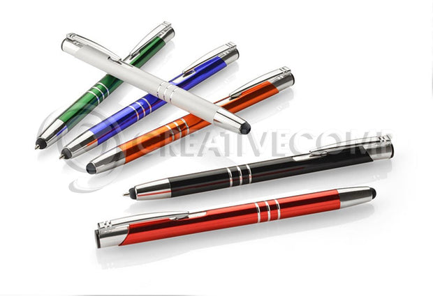 50x Personalised Touch Pens