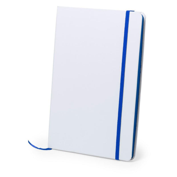 Personalised A5 notebook blue