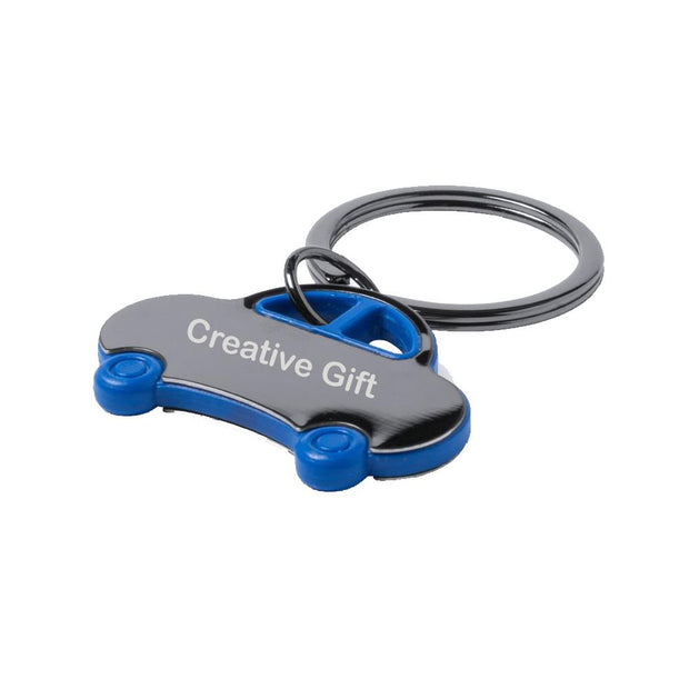 Personalised Keyring Car