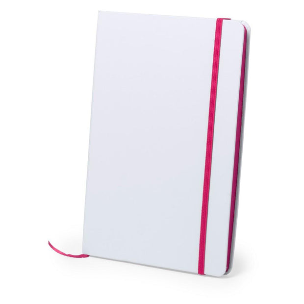Personalised A5 notebook pink