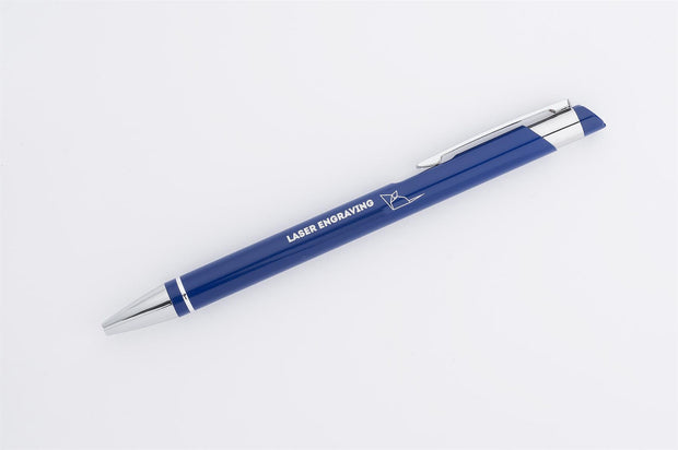 Personalised metal pen