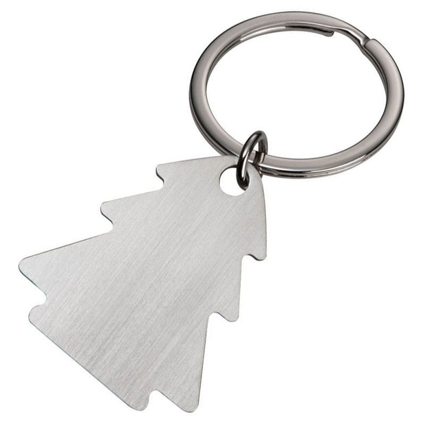 Personalised Keyring Chistmas Tree