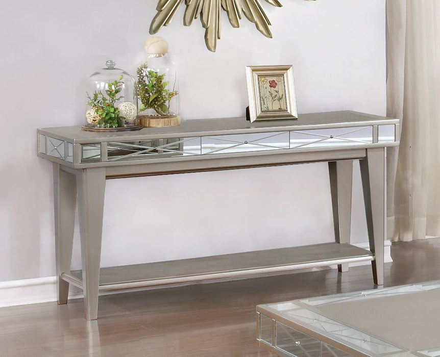 Bling Mirrored Sofa Table
