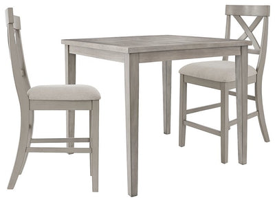 Parellen Signature Design 3-Piece Dining Room Package