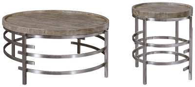 Zinelli Signature Design 2-Piece Table Set