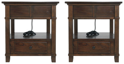 Gately Signature Design 2-Piece End Table Set