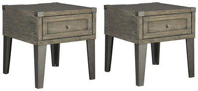 Chazney Signature Design 2-Piece End Table Set