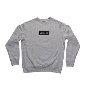 Decade Box Logo Crewneck Sweatshirt