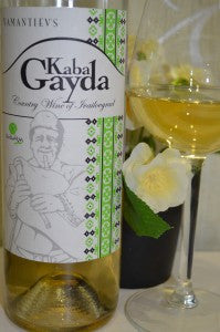 2018 Kaba Gayda White, Yamantievs, Thracian Lowlands, 75cl. 12% abv