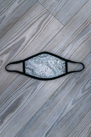B&F Sequin Face Mask